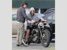 Full Sized Photo of alex pettyfer motorcycle teaching
