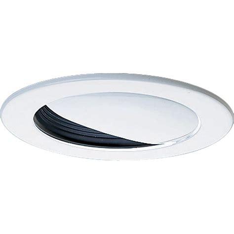progress lighting 4 in 12 volt black recessed wall washer