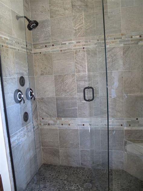 bathroom floors  river rock bathroom remodel tile