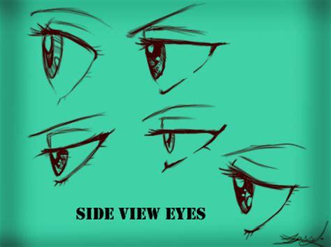 Anime Eyes From The Side Side View Eyes Female By Kira09kj On Deviantart