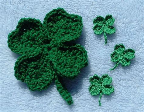 [free Pattern] Lucky Clover Pin For St. Patrick's Day