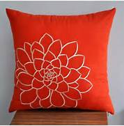 Decorator Throw Pillows by Orange Pillow Cover Decorative Pillow Cover Throw Pillow