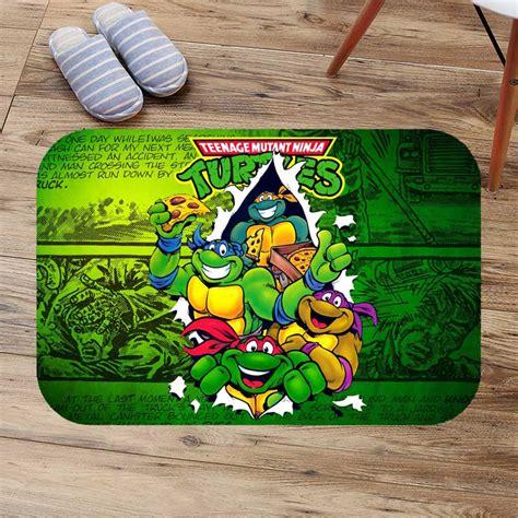 teenage mutant ninja turtles floor mat anti slip kitchen carpet bathroom toilet tapete water