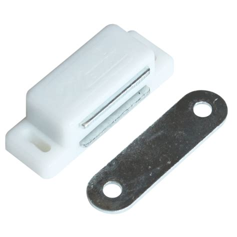 magnetic cabinet door catch kaboodle magnetic cabinet catch 2 pack bunnings warehouse