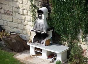Ideen Aus Beton : kleinarchitekturen auf der terrasse gartengrill aus beton terrassengestaltung ideen ~ Fotosdekora.club Haus und Dekorationen