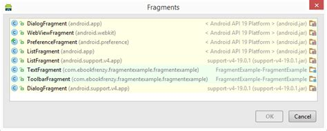 Is It Ok To Use Fragments In A Resume by Using Fragments In Android Studio An Exle Techotopia