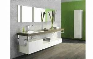 Meuble Salle De Bain Marron : stunning frise salle de bain brico depot gallery design ~ Dailycaller-alerts.com Idées de Décoration