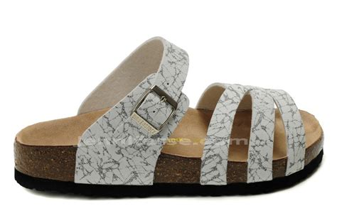 birkenstock munich leather black white striped multi