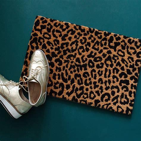 Leopard Doormat by Leopard Print Doormat Audenza