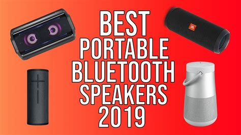 best portable bluetooth speakers of 2019 top 5 top wireless bluetooth speaker 2019 youtube