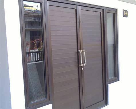 contoh desain pintu rumah pintu depan pintu utama