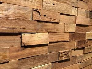 Wandverkleidung Holz Innen : wandverkleidung teak bs holzdesign ~ Michelbontemps.com Haus und Dekorationen