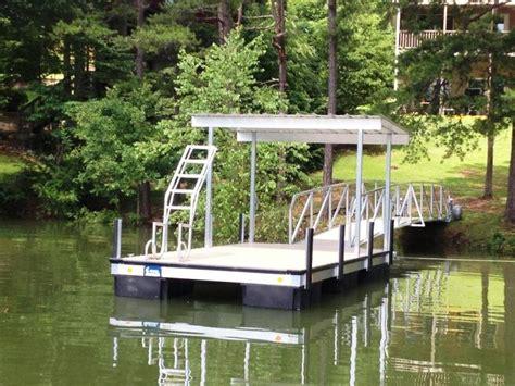 Boat Dock Swim Platform by Custom Dock Systems Builds Quality Boat Docks Boat Lifts