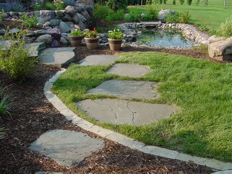 flagstone landscaping flagstone steps timberpine unplugged