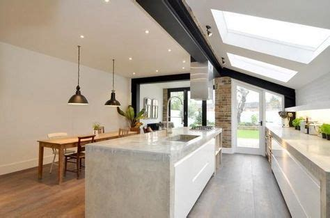 kitchen island extensions park kitchen extension the polished concrete 1908