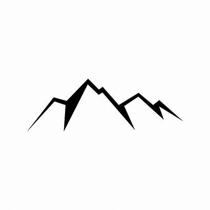 Mountain Transparent Mountains Clipart Clip Clear Silhouette