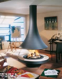 Cheminée Ethanol Bricorama : cheminee centrale a foyer ouvert ~ Edinachiropracticcenter.com Idées de Décoration