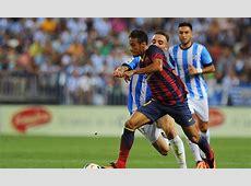 Barcelona struggle past Malaga but Neymar proves shining