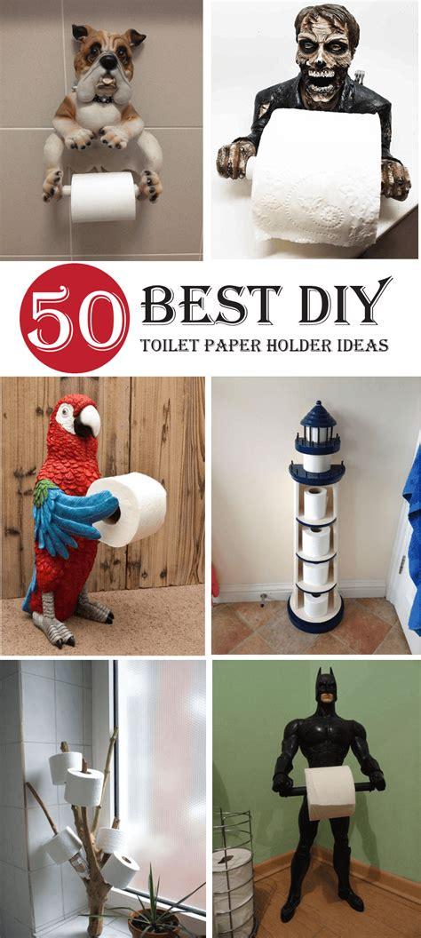 diy toilet paper holder ideas  designs youll love interiorsherpa