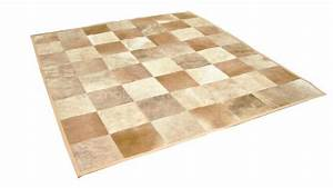 tapis peau de vache rectangle en patchwork achetez chez With tapis peau de vache avec carrefour canape angle