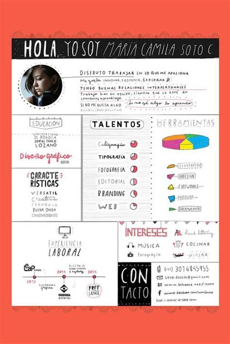39 fantastically creative resume and cv exles ejemplos curriculums creativos img 14 animated discover best ideas about