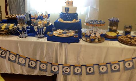 baby shower prince theme royal prince baby shower party ideas photo 6 of 12