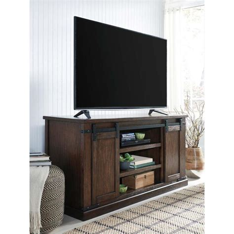 ashley furniture budmore large tv stand