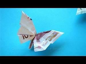 Geschenke Für 50 Euro : geldscheine falten f r geldgeschenke schmetterling youtube ~ Frokenaadalensverden.com Haus und Dekorationen