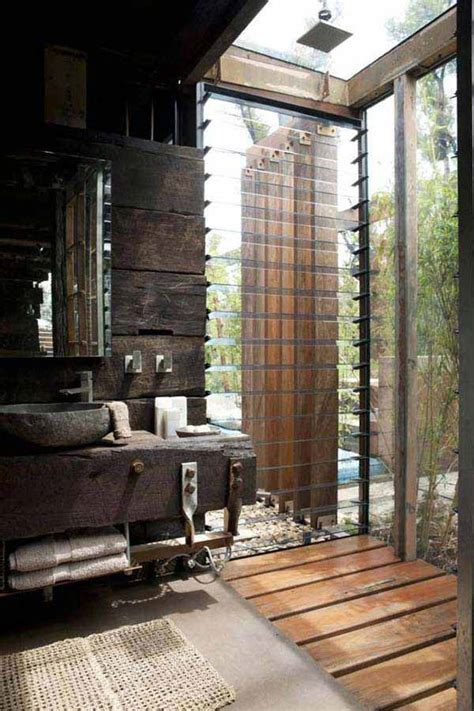 inspiring rustic bathroom ideas  cozy home