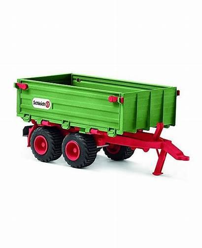 Farm Tractor Toy Trailer Schleich Macy