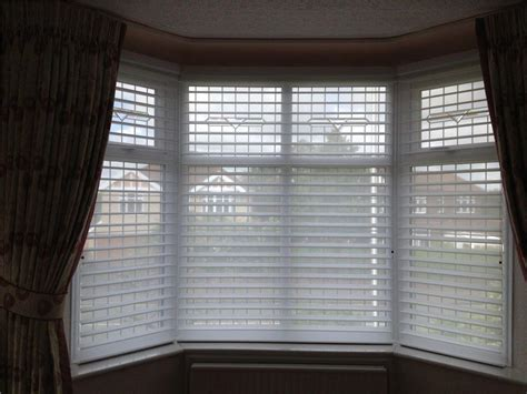 bay window blinds alternatives window treatments design
