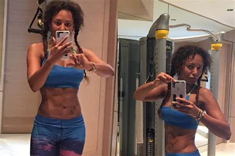 scary spice s abs are so they could end sporty