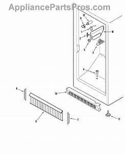 Parts For Amana Aqu1625bew  Freezer Compartment Parts