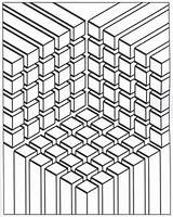 Coloring Illusion Tunnel Designlooter Illusions Ara Optical Enjoy Adult sketch template