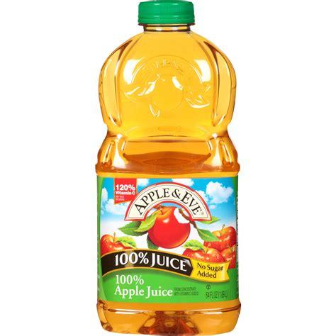 (2 pack) Apple & Eve 100% Juice, Apple, 64 Fl Oz, 1 Count ...