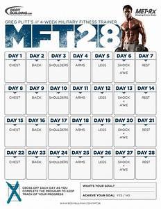 Bodybuilding Workout Schedule 5 Day