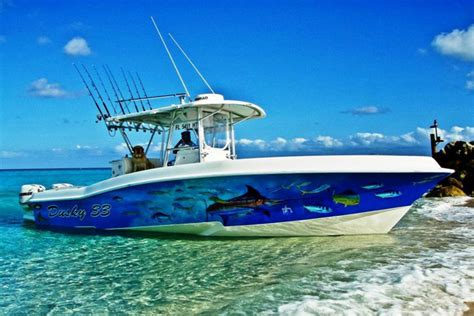 Fishing Boat Paint Designs by Refinishing Your Boat It S A Wrap Nautical