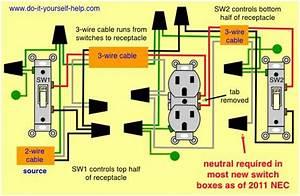 3 Way Switch Wiring Diagram Split
