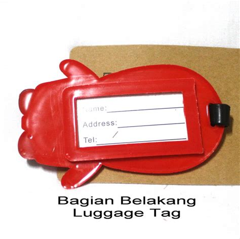 Jual Luggage Tag Kaskus jual luggage tag label koper manchester united limited