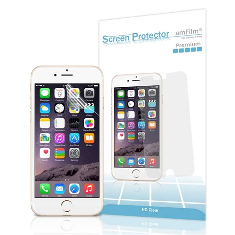 screen for iphone 6 amfilm premium hd clear screen protector keeps your iphone