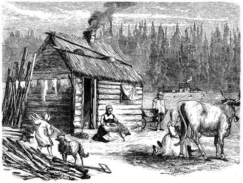 log cabin clipart
