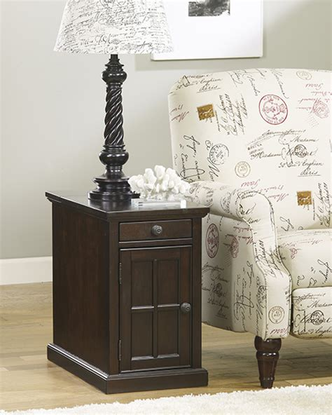 ashley furniture end table with power ashley t127 668 power chairside end tables chair side end