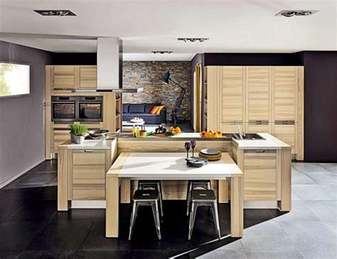 taille plan de travail cuisine plan cuisine ilot central des photos plans cuisines