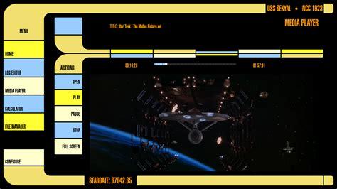 Star Trek Voyager Wallpaper Lcars Interface