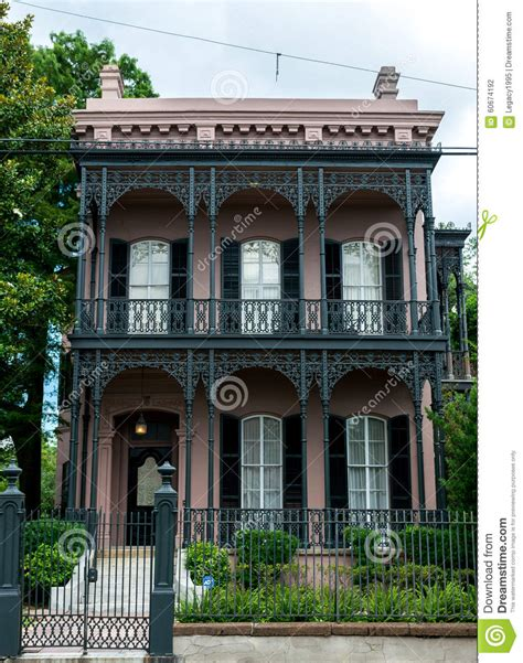new orleans garden district architecture editorial