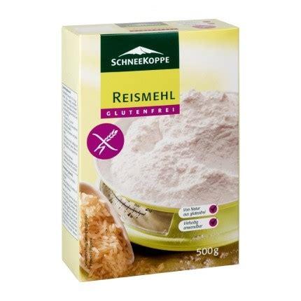 2 x Schneekoppe Reismehl, glutenfrei - bei nu3 bestellen!