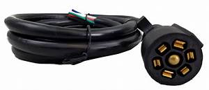 7 Way Trailer Wiring Harness Molded Round Class A Customs