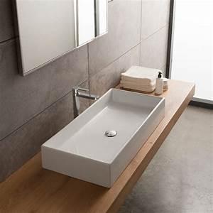 Waschtische Für Badezimmer : aufsatzwaschbecken mit unterschrank ~ Michelbontemps.com Haus und Dekorationen