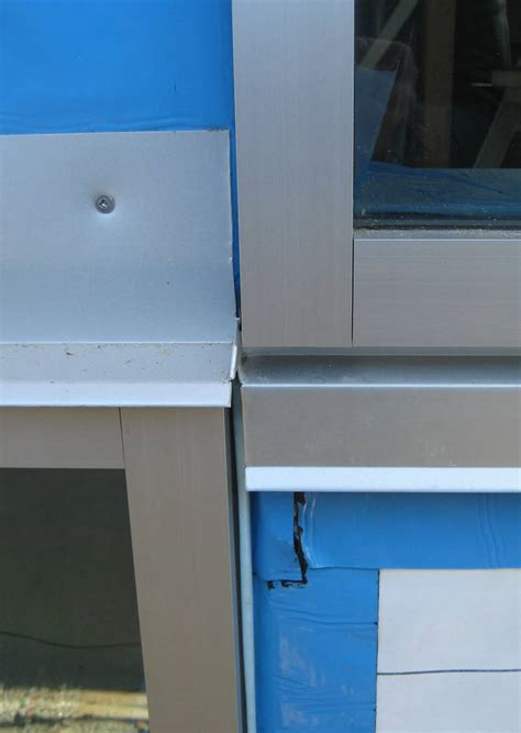 Metal Window Sill by Detail Windows Curtain Wall 171 Home Building In Vancouver