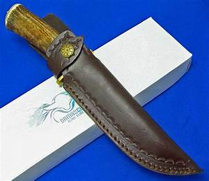 Couteau à Bois : couteau de chasse damas 256 couches manche bois de cerf ~ Edinachiropracticcenter.com Idées de Décoration